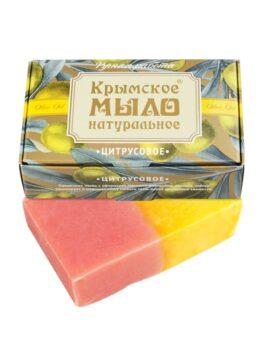 Крымское мыло натуральное «Цитрусовое»