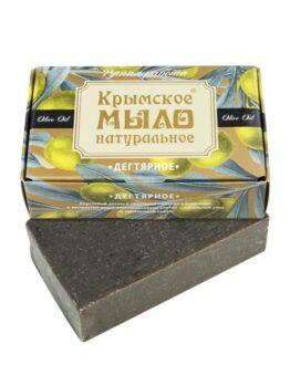Крымское мыло натуральное «Дегтярное»