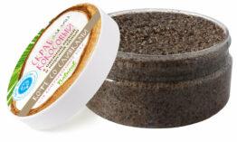Скраб кокосовый «Кофе со сливками»