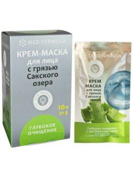 Крем-маска для лица «Глубокое очищение»
